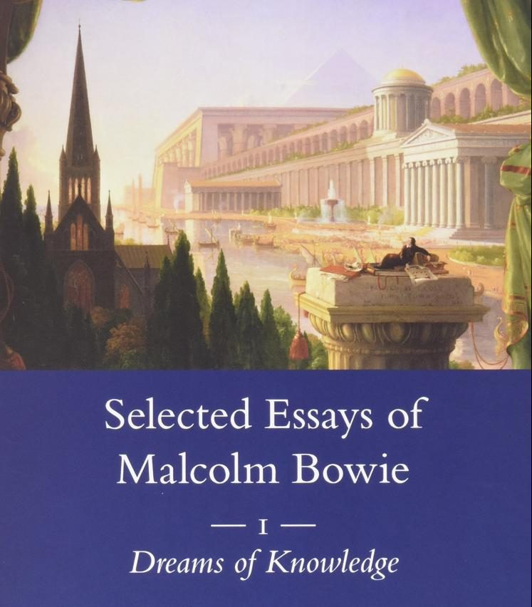 Cover image from Selected Essays Of Malcolm Bowie
